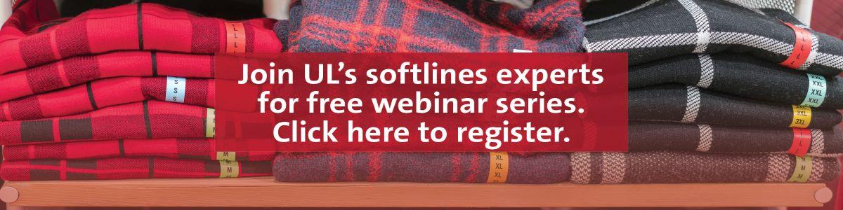 Register for our softlines webinar series