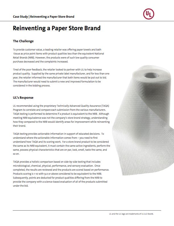 Reinventing a Paper Store Brand