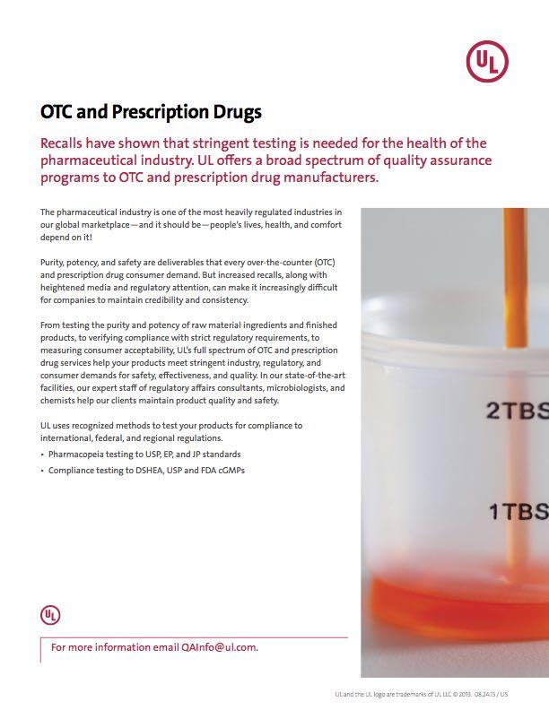 OTC and Prescription Drugs
