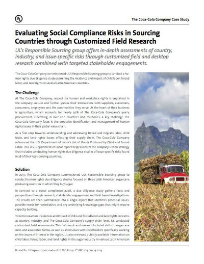 Thumbnail Cover - Evaluating Social Compliance Risk in Sourcing Countries Through Customized Field Research