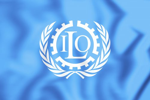 Flag of ILO