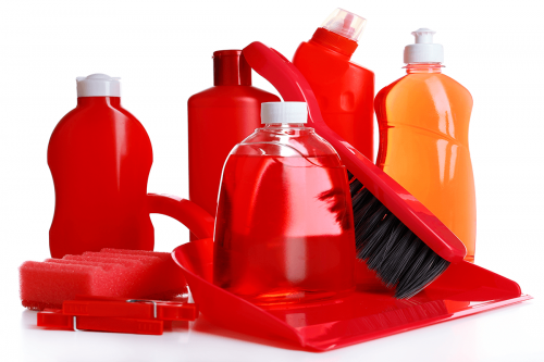 Cleaning Product Isolated On