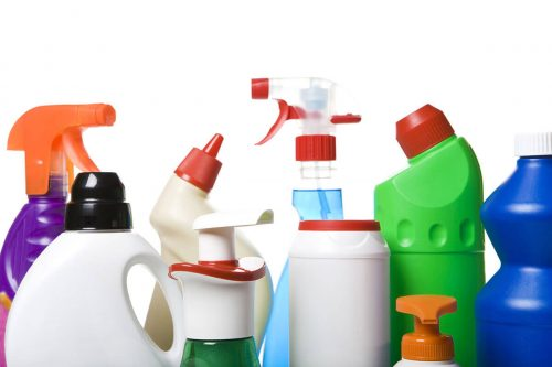 bigstock Collection of hygiene cleaners