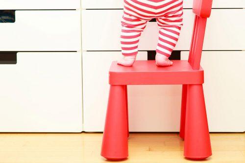 kids safety concept little gi