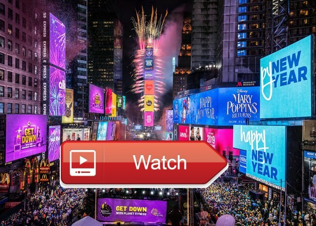 2021 New Year's Eve Ball Drop Online